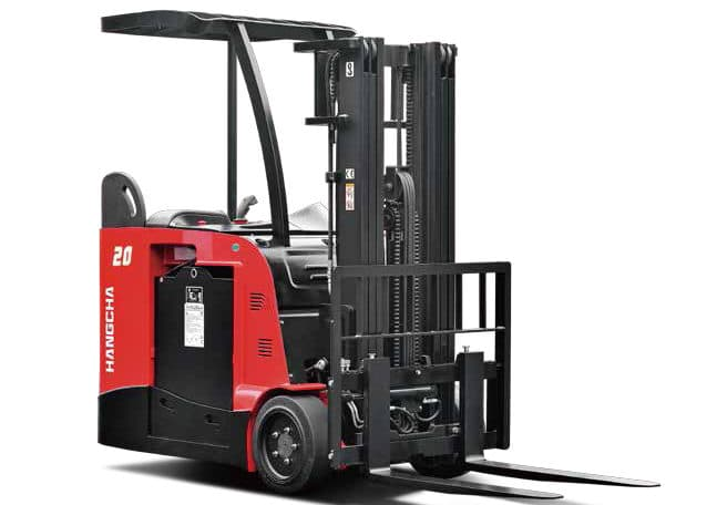 A Series 3-Wheel Stand-up Counterbalanced Lift Truck